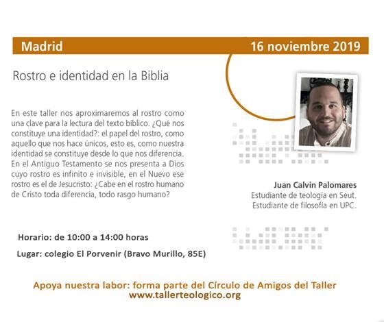 Portada del Taller Breve Madrid 2019-11-16