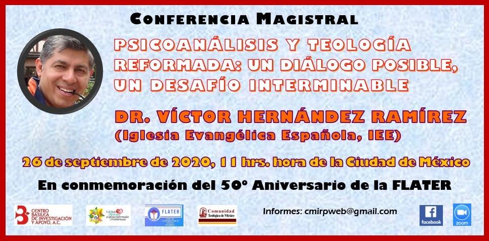 Conferencia Psicoanálisis y teología reformada
